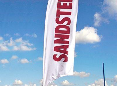 Beachflagga Typ S