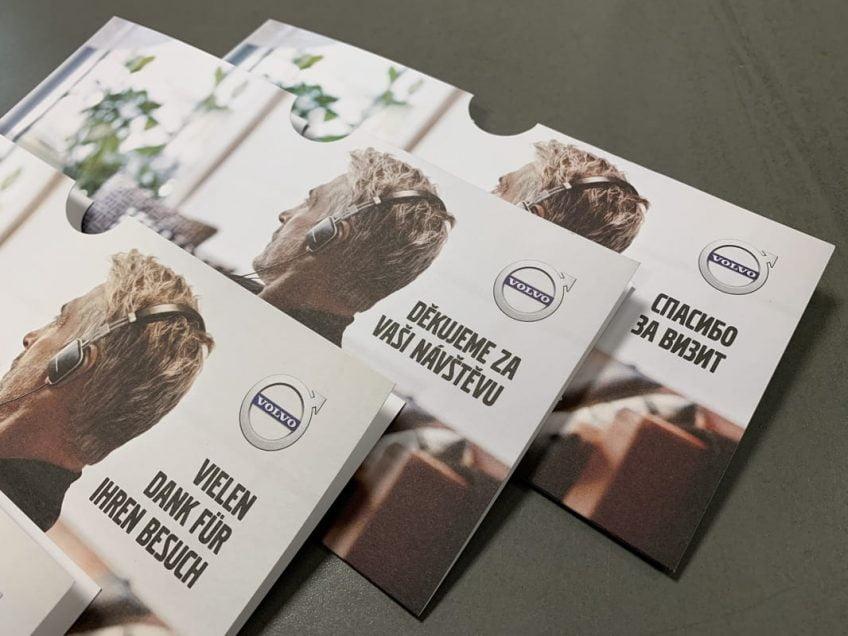 Kuvertficka på olika språk