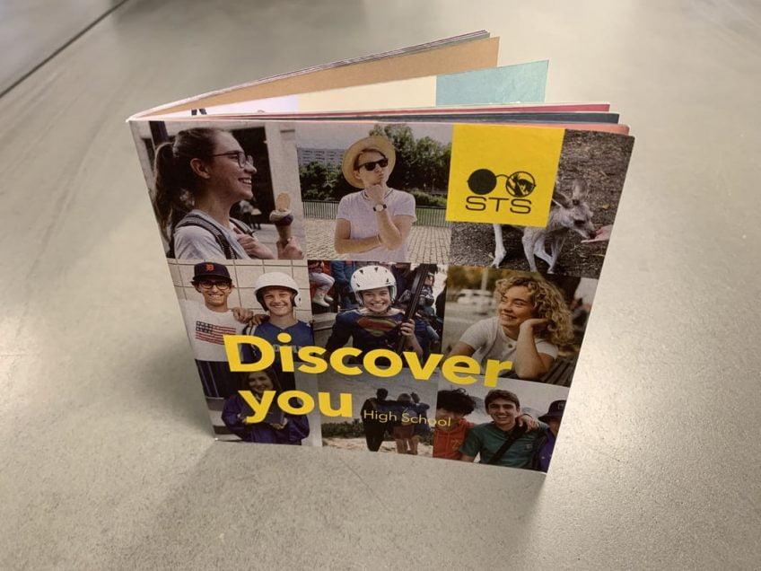 Trycka broschyrer